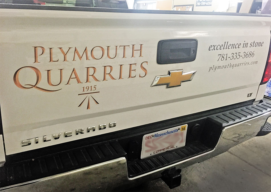 PlymouthQuarriesTruckLettering